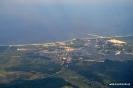 Świnoujście i gazoport z samolotu EuroLot